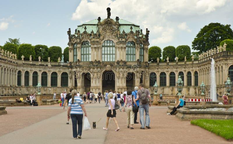 Gabinete real de los instrumentos matemáticos y de Phyiscal, Dresden fotos de archivo
