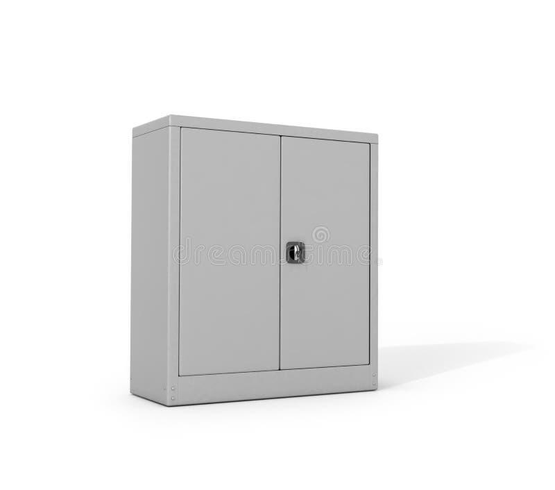 Gabinetto del metallo per i documenti illustrazione vettoriale