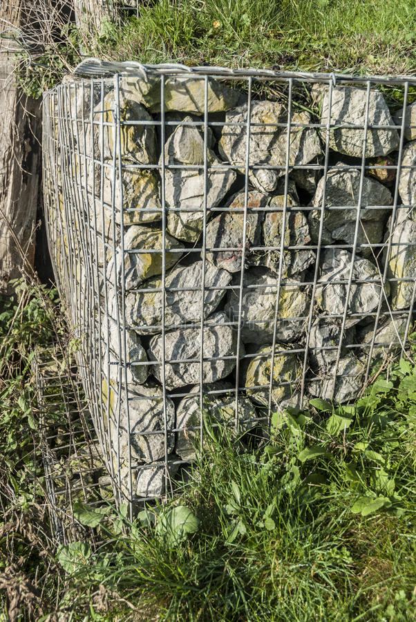 Download Gabion stock image. Image of structure, fortification - 34980073