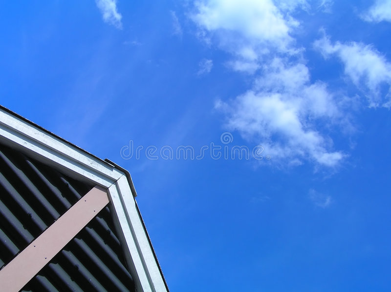 Download Gable stock image. Image of building, shadow, roof, architecture - 165161