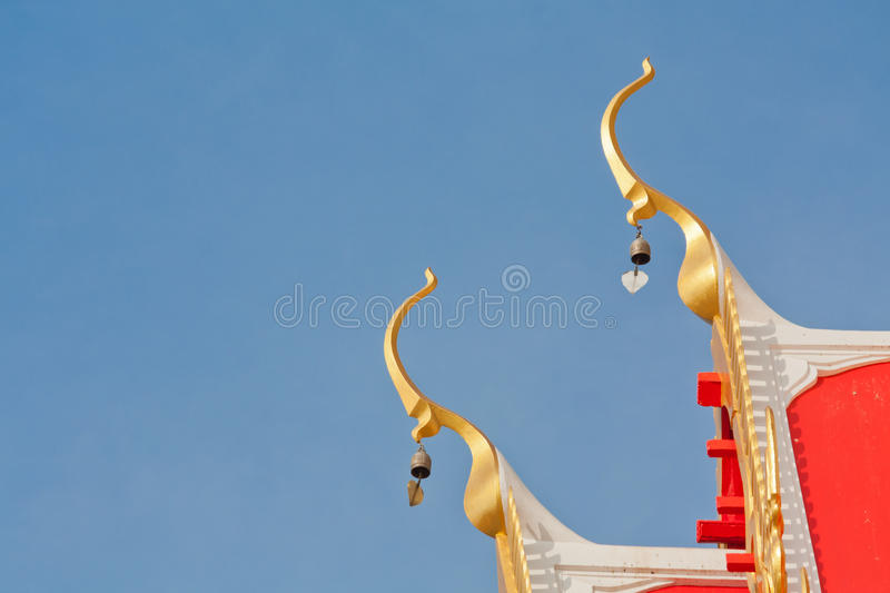 Download Gable roof of temple stock image. Image of golden, culture - 21979957