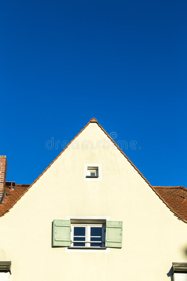 Gable with window royalty free stock images