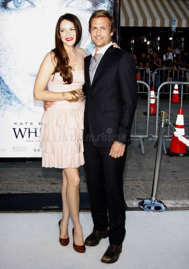 Gabriel Macht i Jacinda Barrett zdjęcia stock