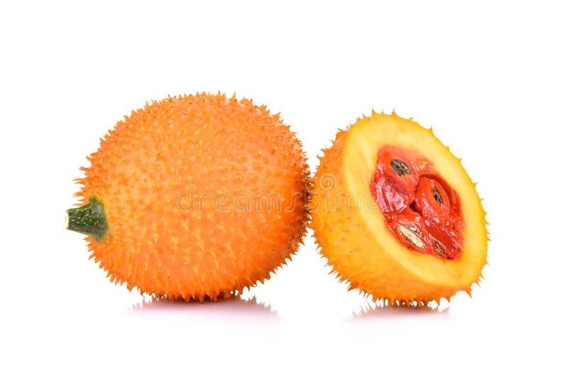 Gacfruit, Baby Jackfruit, Doornige Bittere Pompoen, Zoet Grourd of C stock foto's