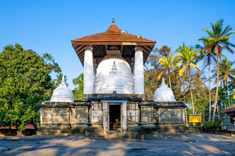 Gadaladeniya Rajamaha Vihara, Kandy,斯里兰卡 库存图片