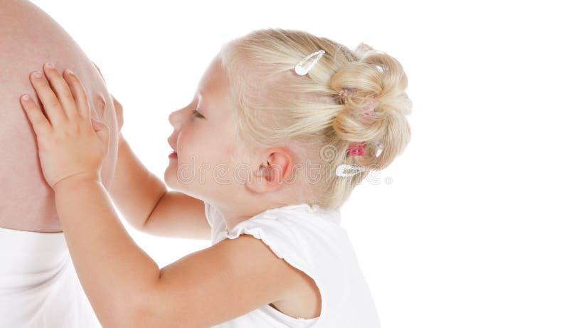 gadanie dziecka obraz royalty free