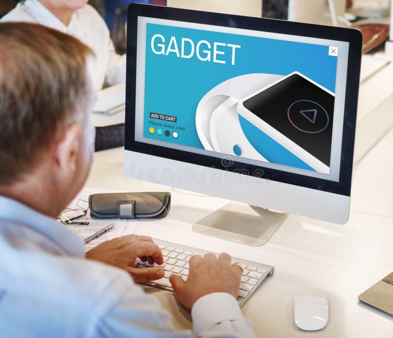 Gadget Invention Technology Innovation Digital Concept stock photos