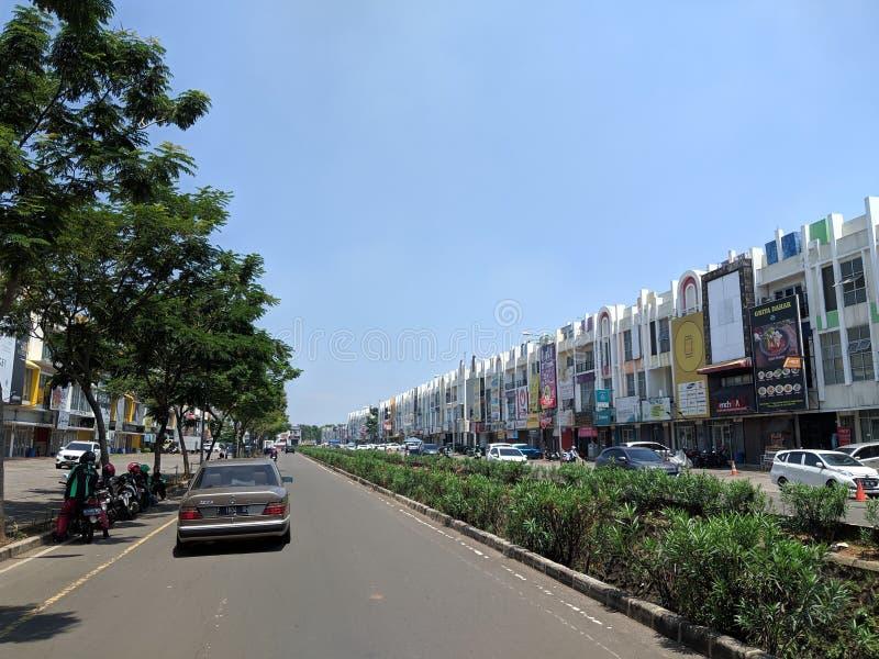 Gading Serpong i Tangerang arkivfoto