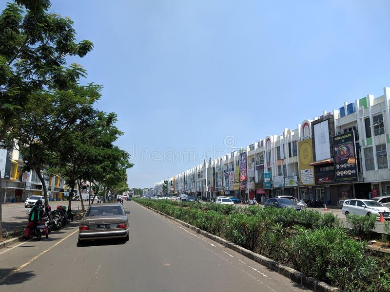 Gading Serpong in Tangerang fotografia stock