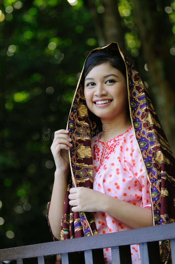 Gadis Melayu images stock