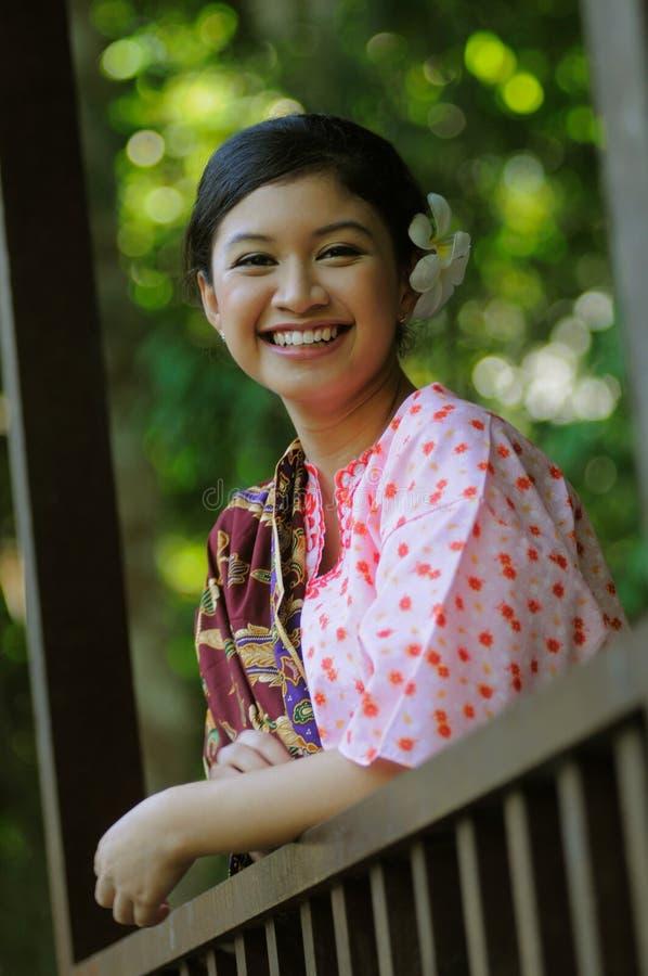 Gadis Melayu photographie stock libre de droits