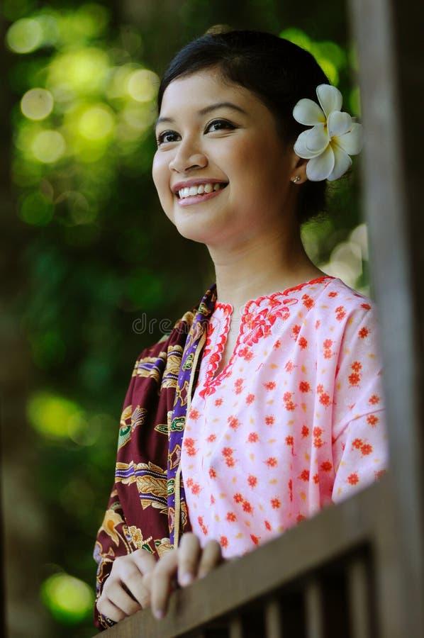 Gadis Melayu photos libres de droits