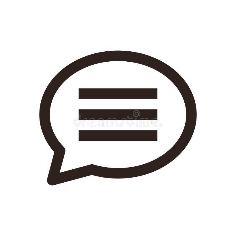 Gadki ikona ilustracji