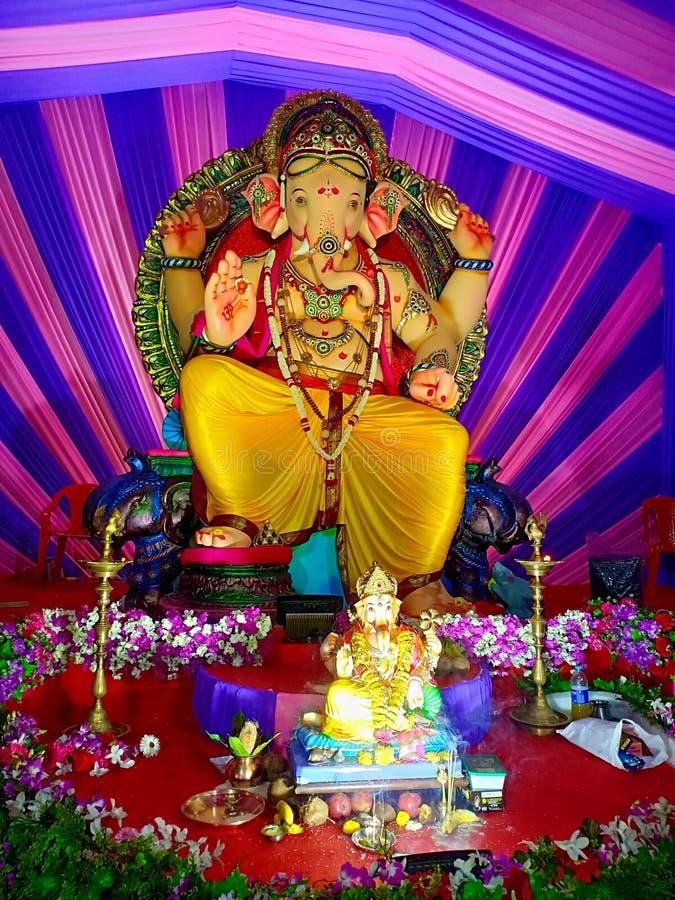 Gadpati bappamorya royaltyfria foton