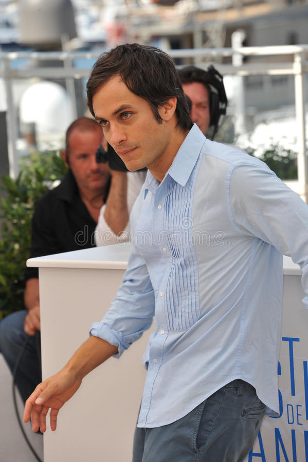 Gael Garcia Bernal. CANNES, FRANCE - MAY 18, 2014: Gael Garcia Bernal at the photocall for his movie El Ardor at the 67th Festival de Cannes royalty free stock image