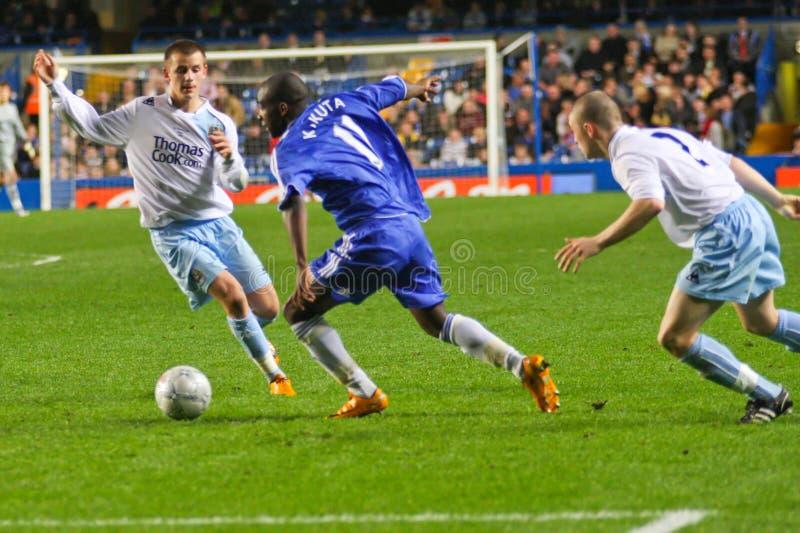 Gael Kakuta - Chelsea FC imagem de stock royalty free