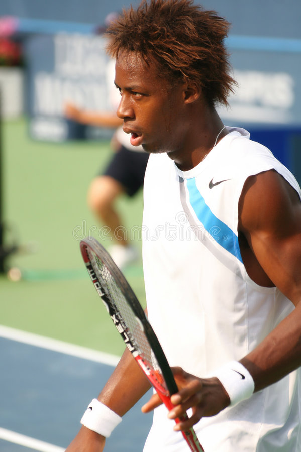 Download Gael Monfils, French Tennis Star Editorial Photography - Image: 4236392
