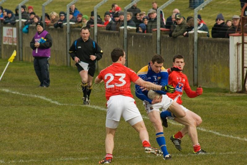 Gaelic Football fotografie stock libere da diritti