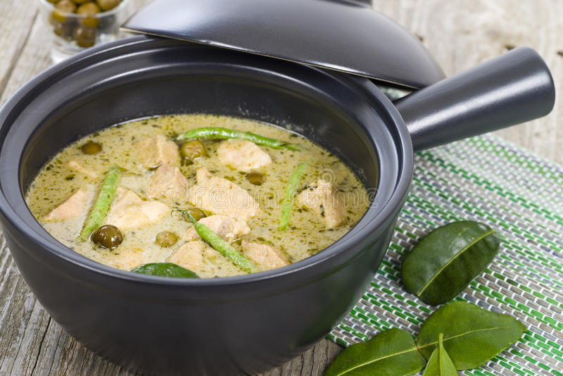 Download Gaeng Khiao Wan Gai stock photo. Image of curry, coconut - 36918066