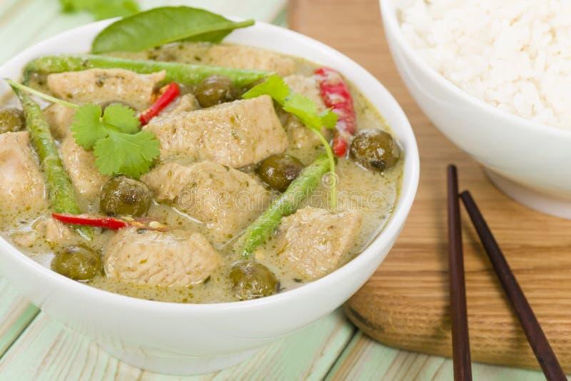 Download Gaeng Khiao Wan Gai stock image. Image of beans, leaf - 36918009