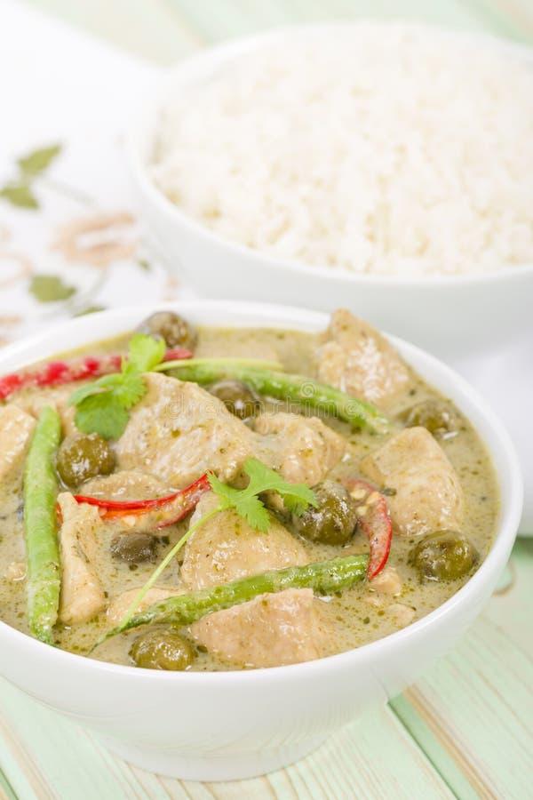 Download Gaeng Khiao Wan Gai stock photo. Image of meal, asia - 36918166