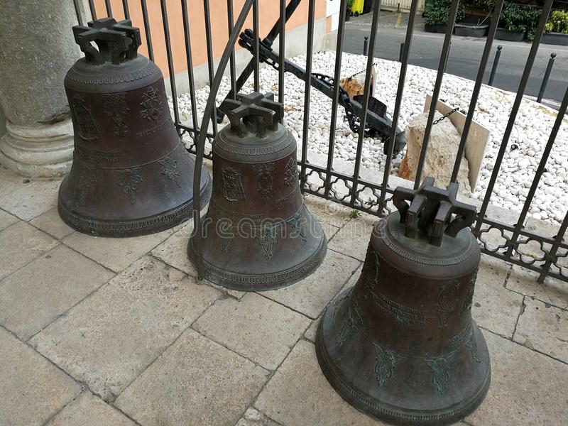 Gaeta - Bells of the Cathedral royalty free stock photography