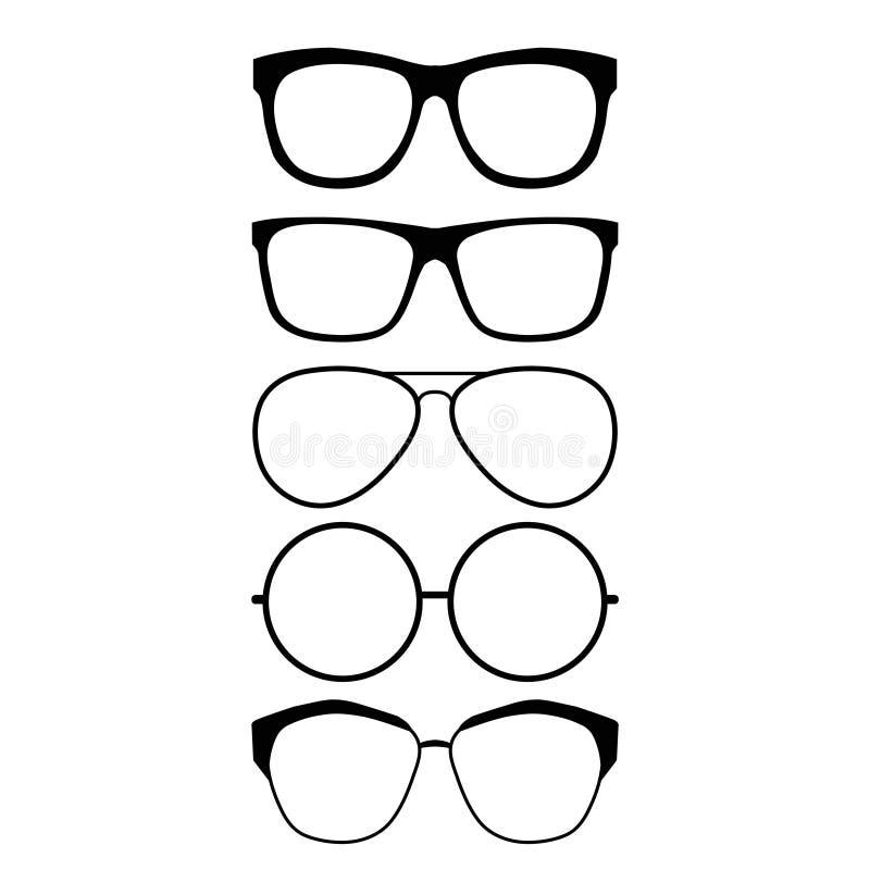 Gafas stock de ilustración