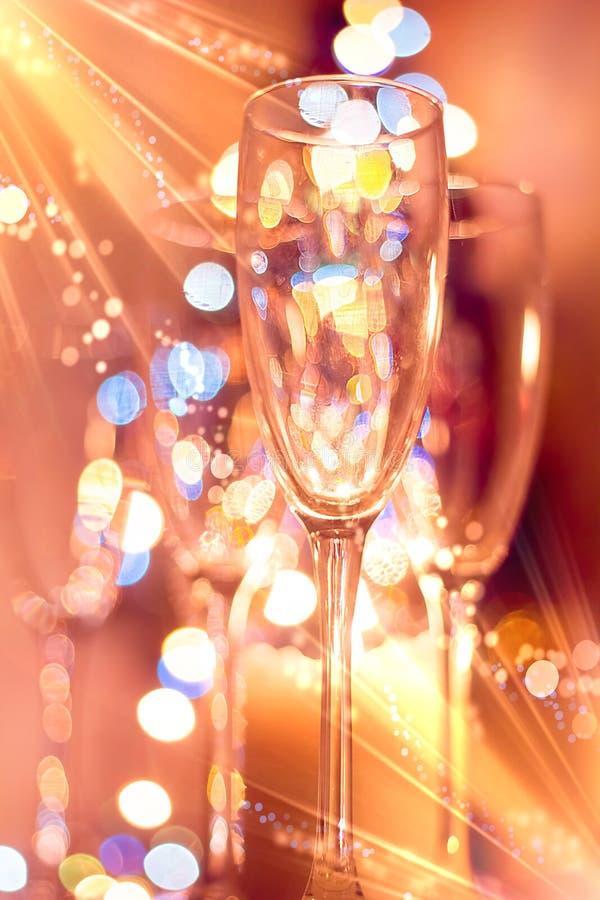 Gafas Boke Navidad imagen de archivo