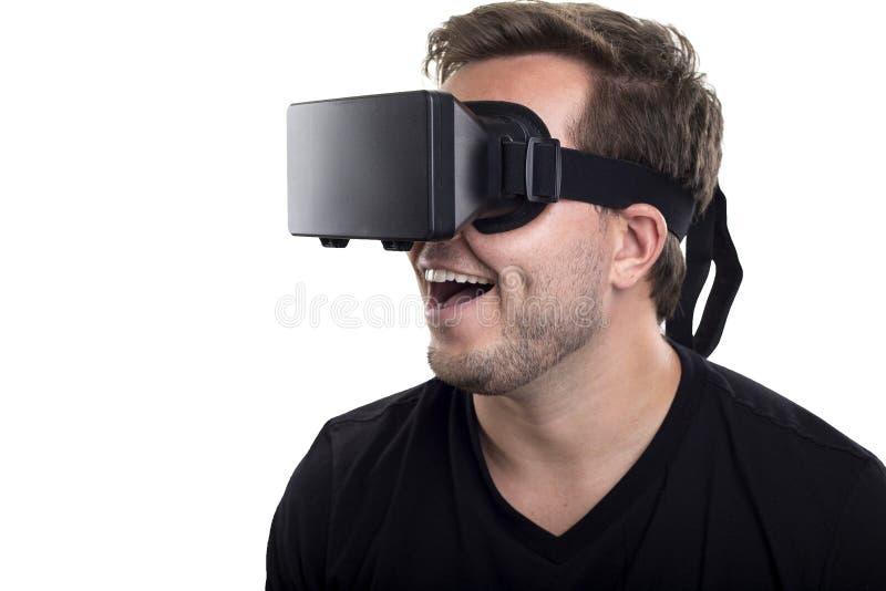 Gafas de la realidad virtual imagen de archivo libre de regalías
