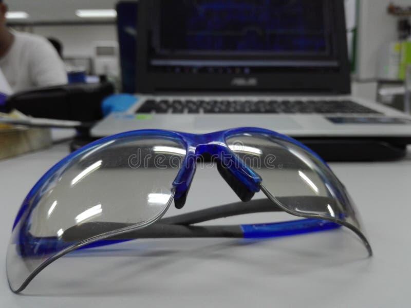 Gafas de seguridad foto de archivo libre de regalías