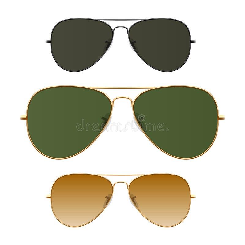 Gafas de sol stock de ilustración