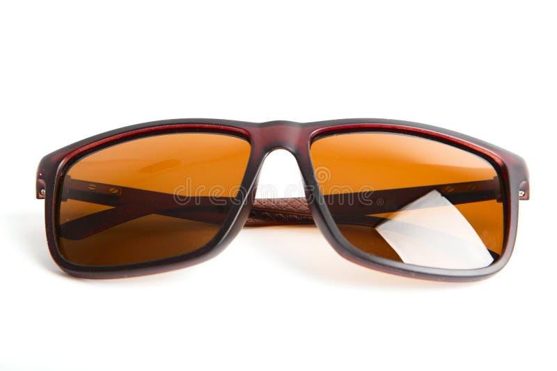 Gafas de sol aisladas en blanco fotografía de archivo libre de regalías