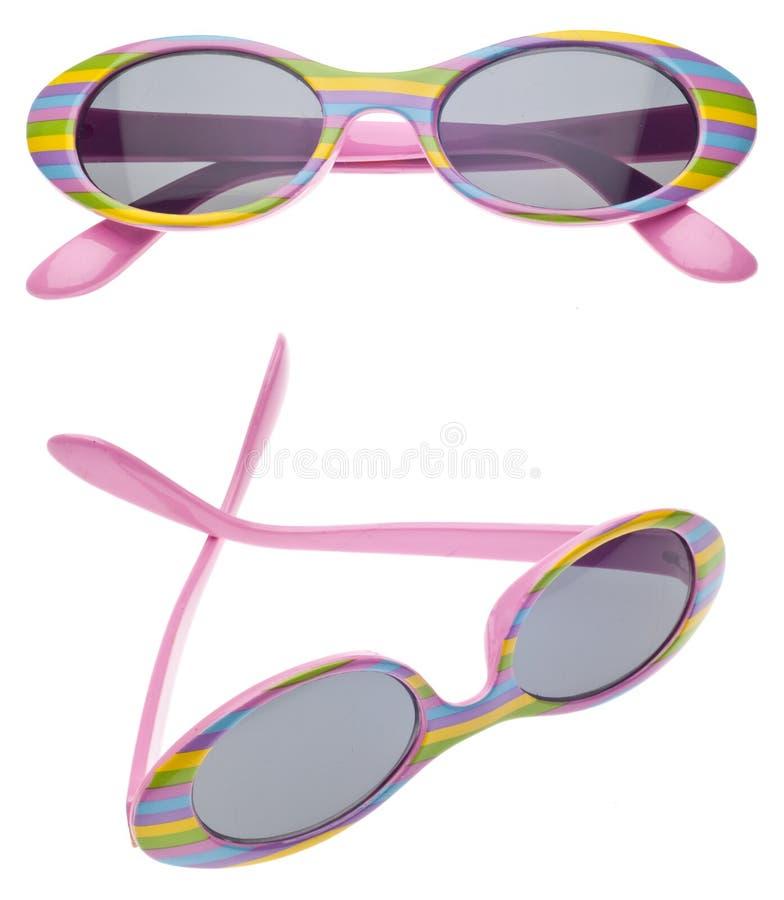 Gafas de sol de la talla del niño del verano imagenes de archivo