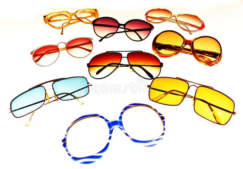 Gafas de sol retras imagen de archivo libre de regalías