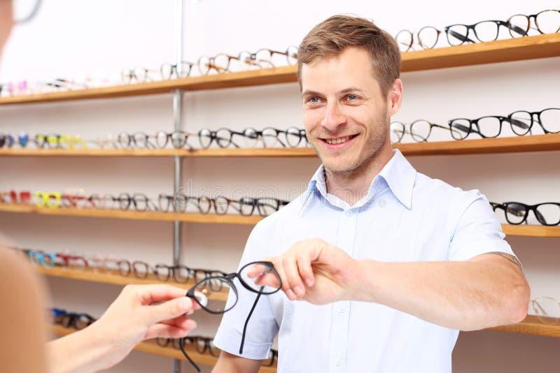 Gafas optician fotos de archivo libres de regalías