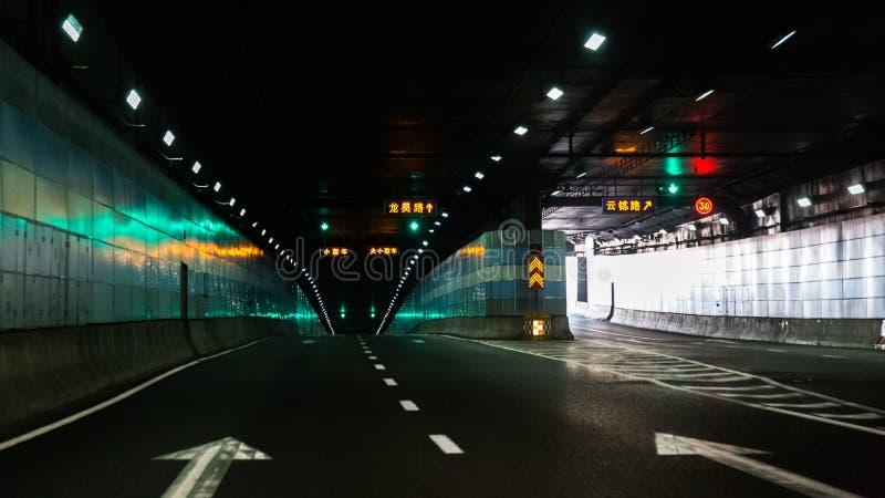 Gaffeltunnel royaltyfri bild