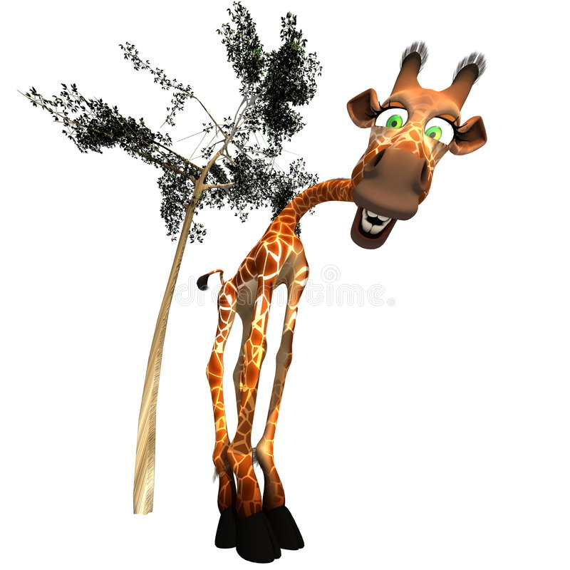 Download Gaffy the Giraffe - 01 stock illustration. Image of happy - 3668473