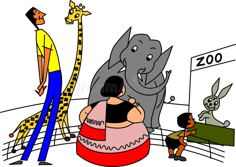 Gag kreskówki ilustracja ilustracji