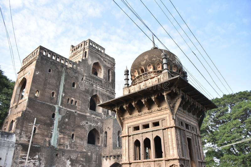 Gagan Mahal, Bijapur, Karnataka, Inde images stock