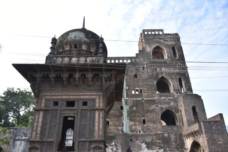 Gagan Mahal, Bijapur, Karnataka, Inde images libres de droits