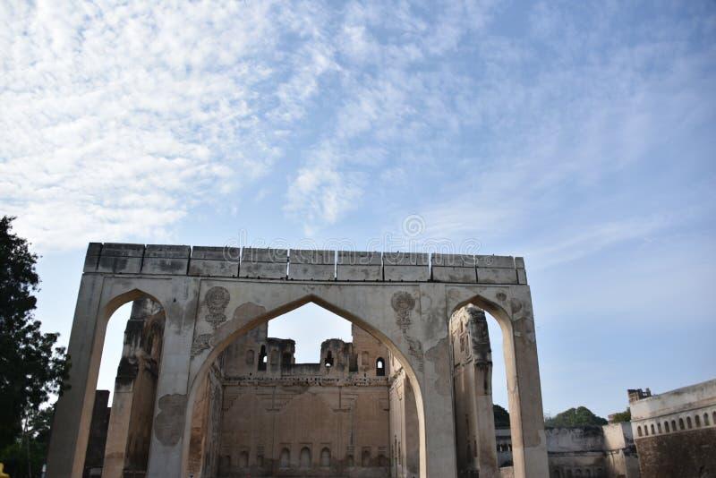 Gagan Mahal, Bijapur, Karnataka, Inde photographie stock