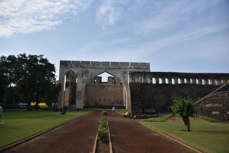 Gagan Mahal, Bijapur, Karnataka, Inde photo stock