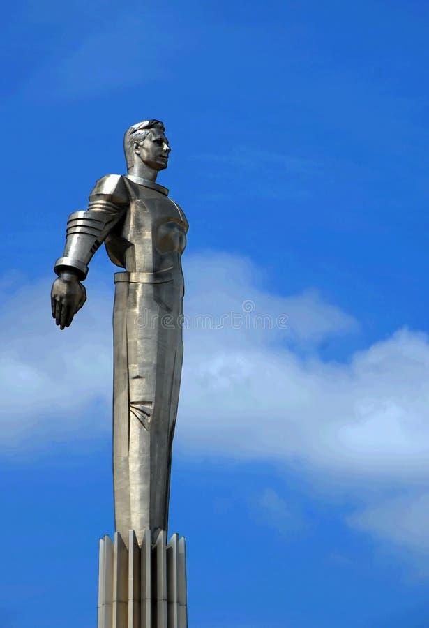 gagarin zabytek Moscow zdjęcia royalty free