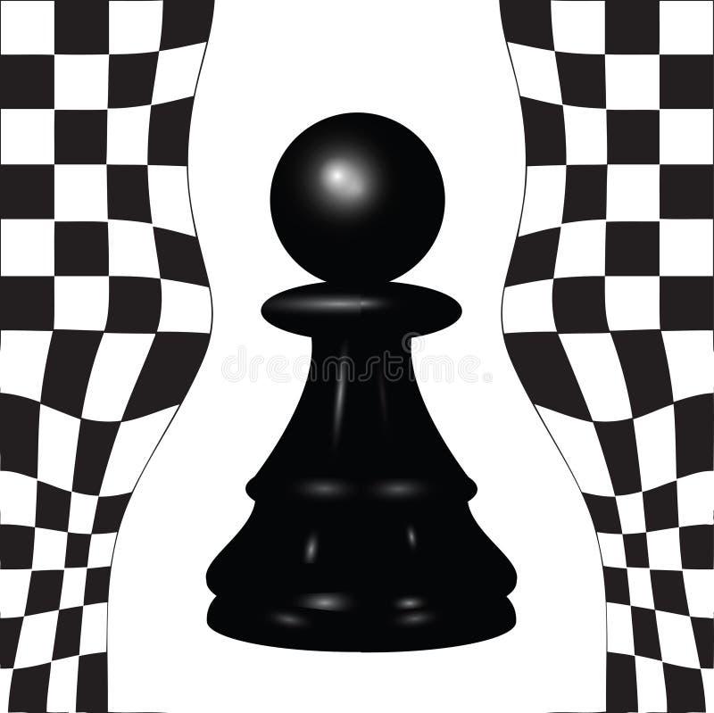 Gage d'échecs illustration de vecteur