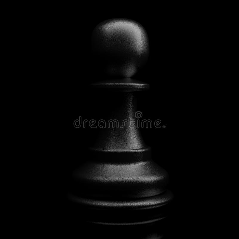 Gage noir illustration stock