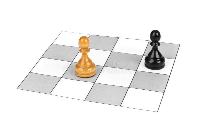 Gages d'échecs images stock