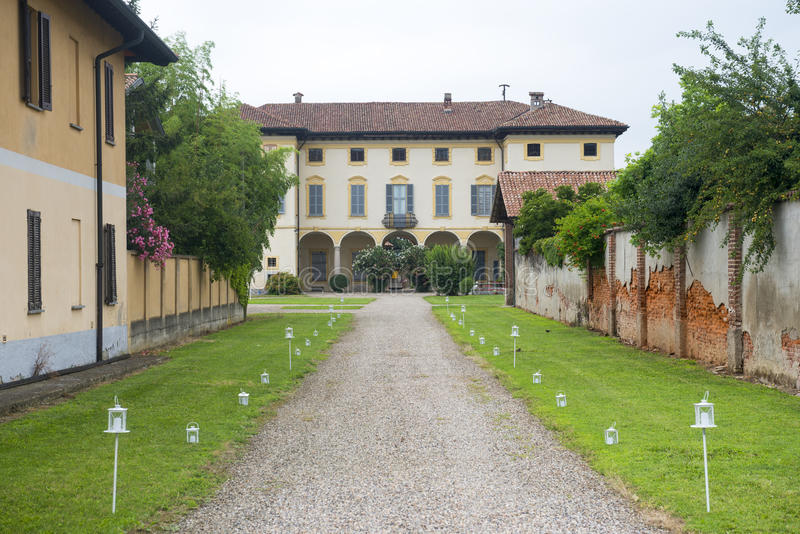 Gaggiano (Milan, Italy) Stock Photo