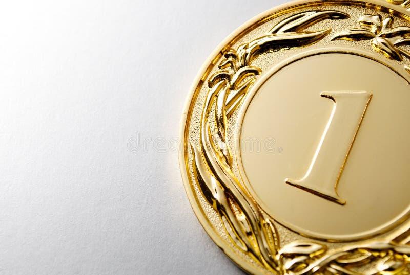 Gagnant de la médaille d'or image libre de droits