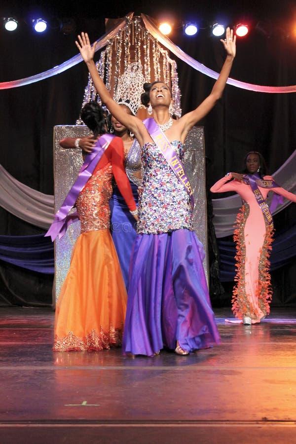 Gagnant de Mlle St. Croix Christmas Festival  photos stock