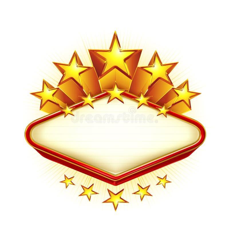 Gagnant, emblème illustration stock
